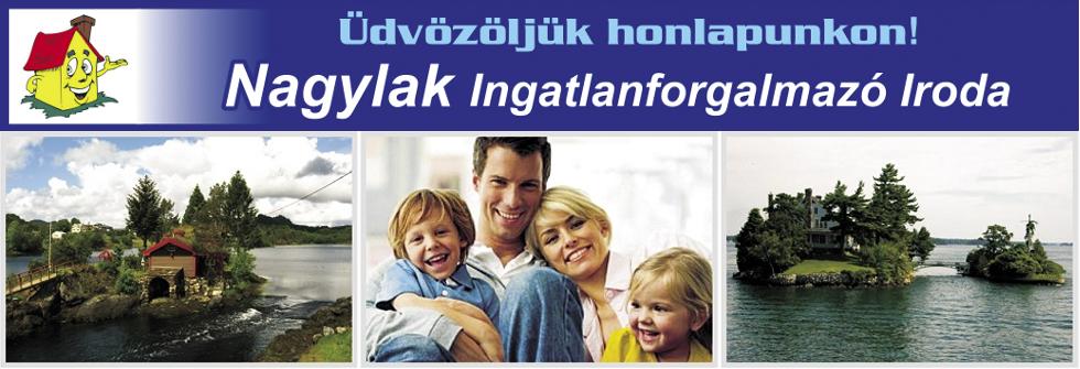 Nagylak Ingatlanforgalmazó Iroda logo