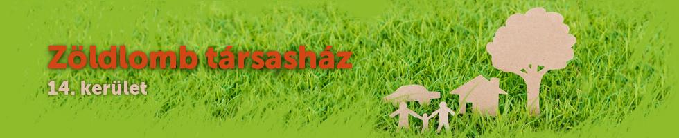 Zöldlomb társasház logo