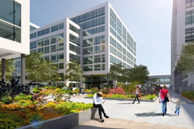 Néhány héten belül indul az Aréna Business Campus irodakomplexum építése