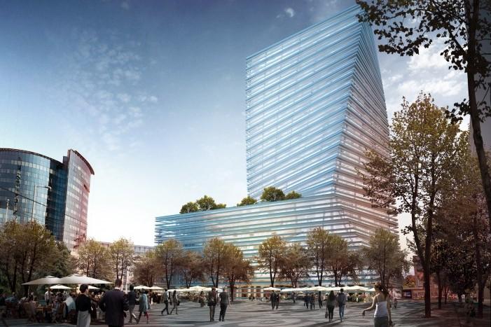 Kezdődhet a főváros legmagasabb irodaháza, a Twist-Budapest City Tower építése