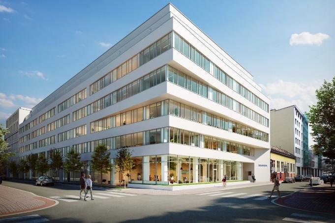 Utolsó fázisba lépett a fővárosi Nordic Light irodakomplexum építése