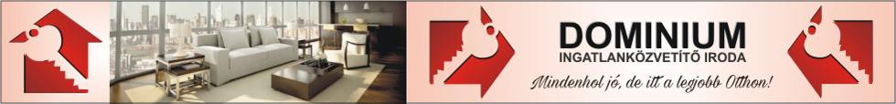 Dominium Ingatlanközvetítő Iroda logo