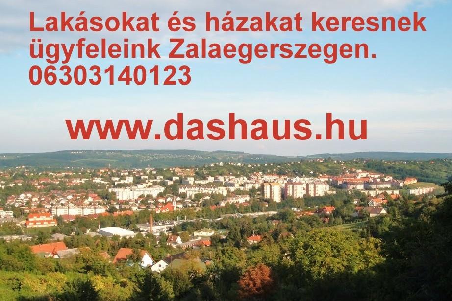 Zala megyei, Zalaegerszegi ingatlanpiac, eladó lakás, ház, ingatlan. www.m.dashaus.hu