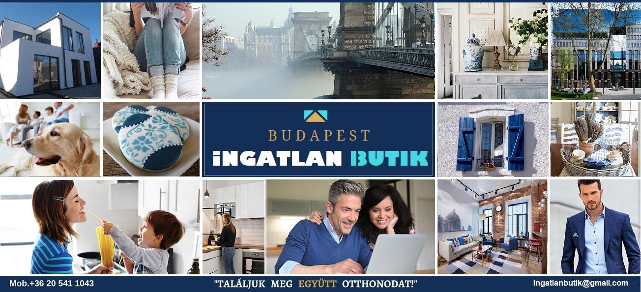 BUDAPEST INGATLAN BUTIK logo