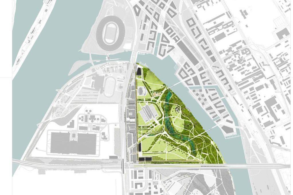 36 hektáros közpark épül Észak-Csepelen