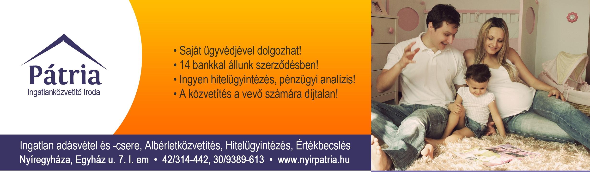 Pátria Ingatlanközvetítő és Hiteliroda