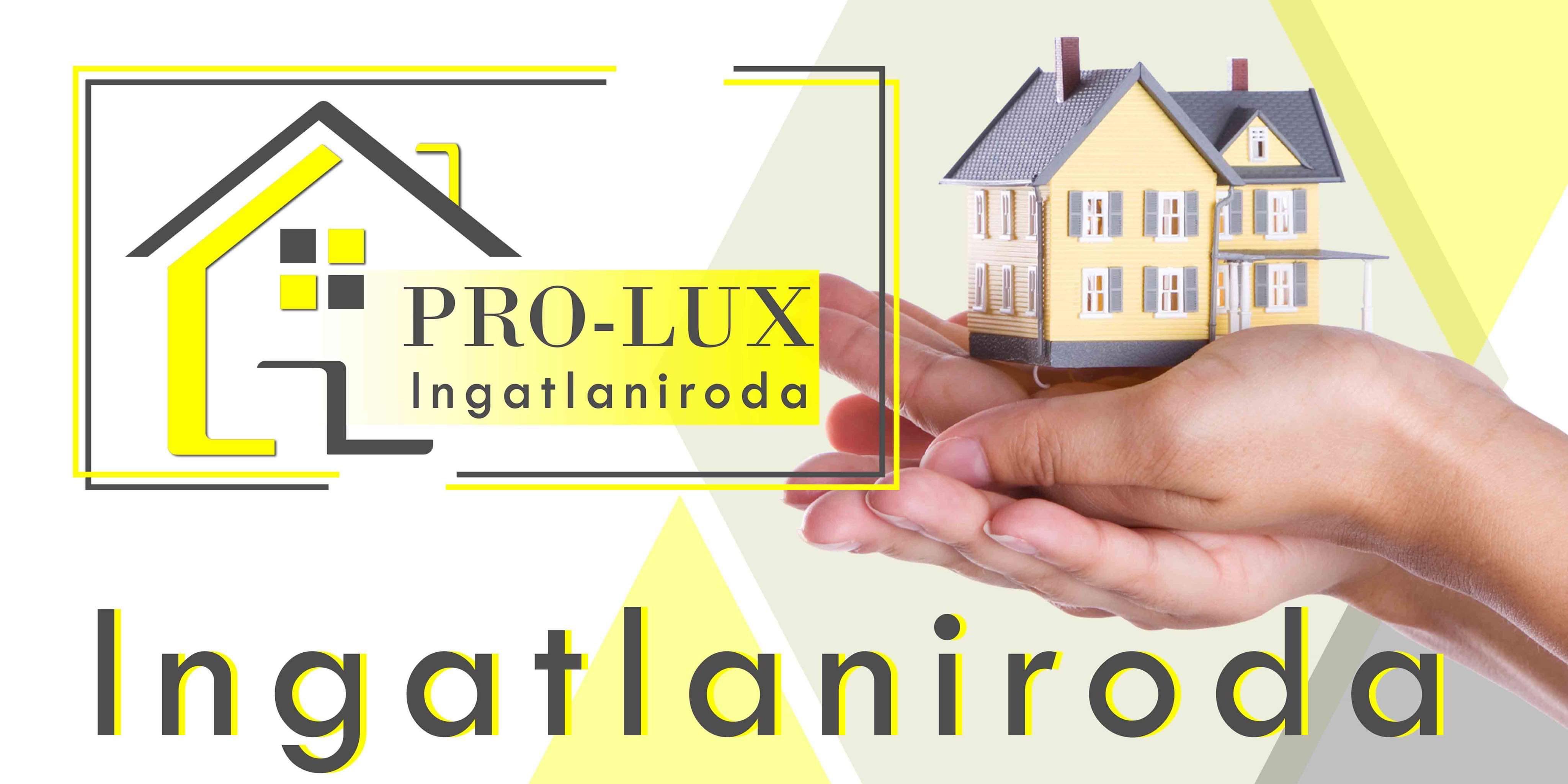 PRO-LUX Ingatlaniroda logo