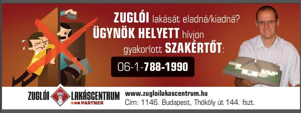 Zuglói Lakáscentrum Kft. logo